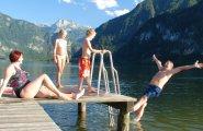© Kraft | Strandbad Untersee in Bad Goisern am Hallstättersee – Baden in der Welterberegion Hallstatt / Dachstein Salzkammergut