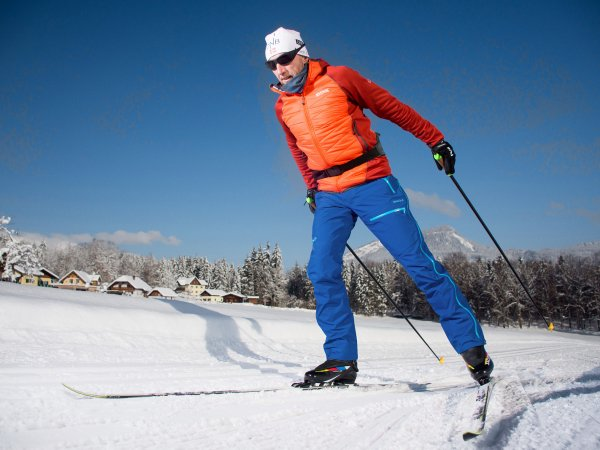 © Kraft | Winterurlaub in der Ferienregion Dachstein Salzkammergut: Skilanglaufen in Bad Goisern am Hallstättersee