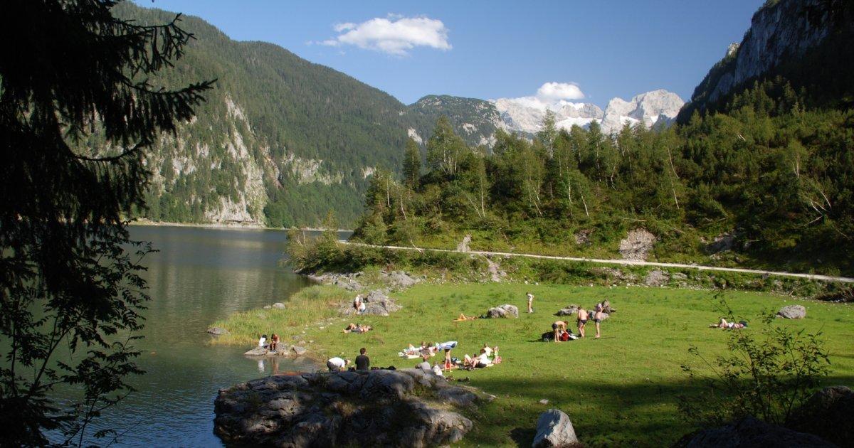 Gosausee Baden Mit Gletscherblick 187 Your Holiday In