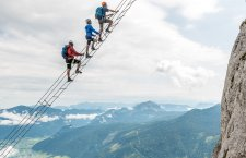 © Outdoor Leadership | Himmelsleiter am Klettersteig am Donnerkogel in Gosau