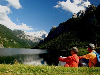 © Kraft | Urlaub in der UNESCO Welterberegion Hallstatt Dachstein Salzkammergut beim Wandern rund um den Gosausee in Gosau, So schön kann ein Wanderurlaub im Salzkammergut sein!