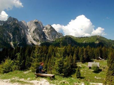 © Kraft | Wanderung zur Ebenalm in Gosau
