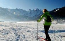 © Kraft | Wintersport im Salzkammergut: Langlaufen in Gosau | Sonnenloipe im Gosautal.