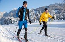 © Kraft | Wintersport im Salzkammergut: Langlaufen in Gosau | Märchenwaldloipe im Gosautal.