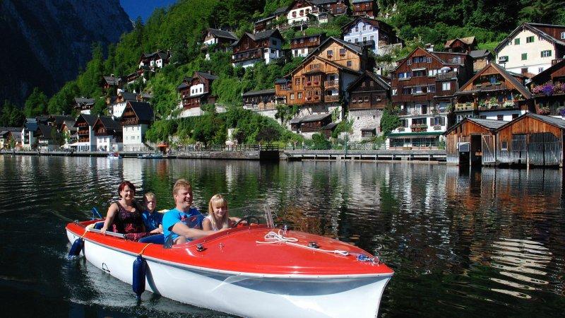 © Kraft | Bootsverleih in der Ferienregion Dachstein Salzkammergut