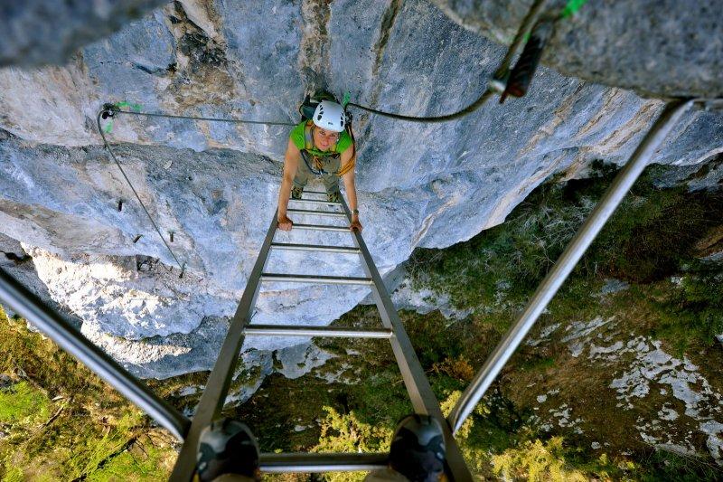 Klettersteig Urlaub : Klettersteige für anfänger fünf touren spaß und genuss