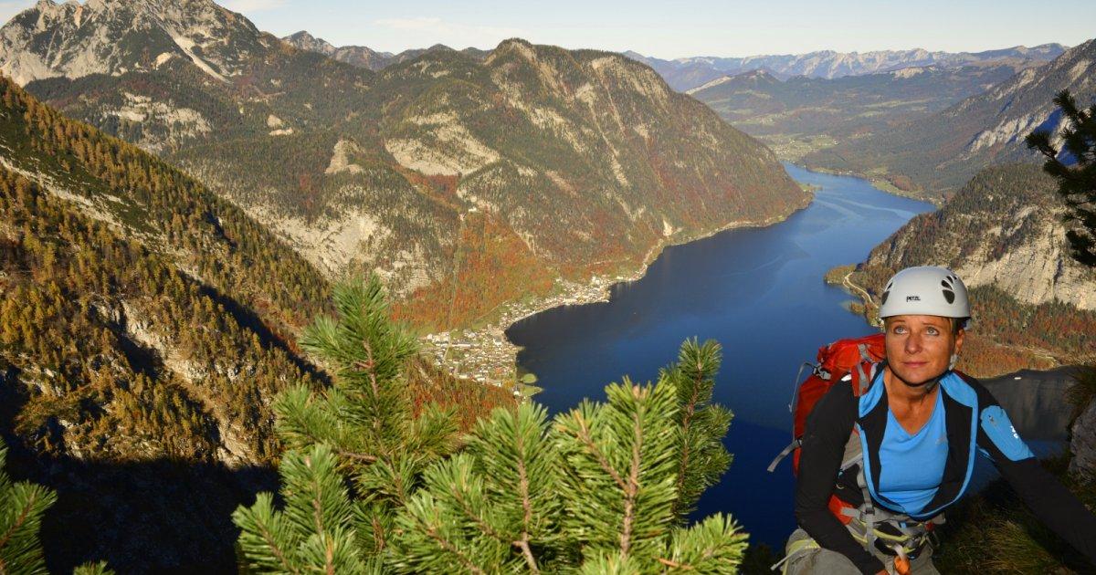Klettersteig Seewand : Für anspruchsvolle » urlaub in hallstatt im salzkammergut