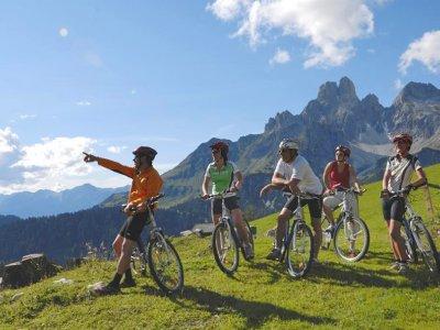 © TVB Filzmoos | Mit Rad, Mountainbike oder E-Bike | Dachsteinrunde rote Variante - Etappe 2