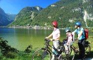 © Kraft | Mountainbiken mit der Familie in der Ferienregion Dachstein Salzkammergut am Hallstättersee