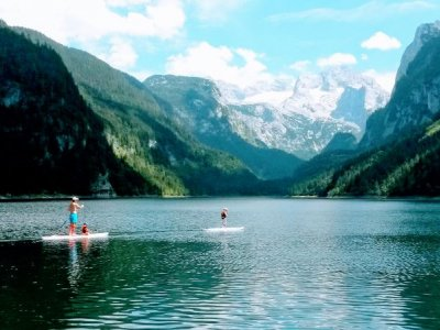 SUP - Stand-Up-Paddling Eintrag Gosausee