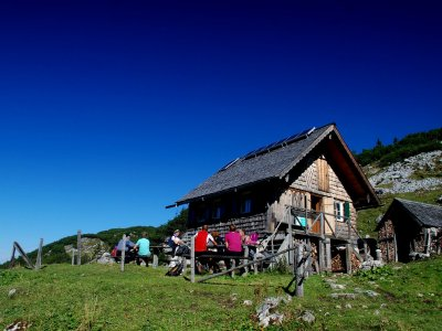 © Kraft | Almen und Berghütten in der Ferienregion Dachstein Salzkammergut: Gablonzerhütte