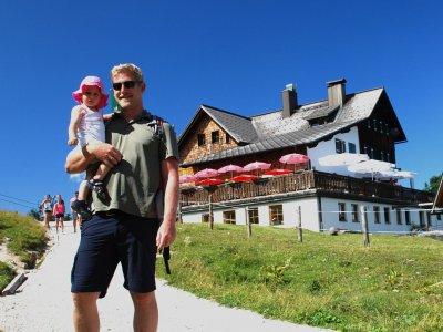 Wanderregion Dachstein West in Gosau: Gablonzerhütte auf der Zwieselalm in der Ferienregion Dachstein Salzkammergut