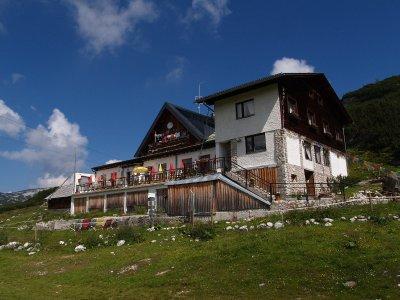 © Kraft | Schilcherhaus auf der Gjaidalm in der Dachstein Wanderwelt in Obertraun