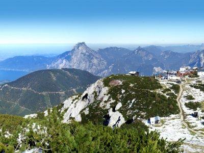 """©TVB-Traunsee    Wandern und Wanderwege bei einem Wanderurlaub & Urlaub im Salzkammergut: Fernwanderwege & Weitwanderwege """"BergeSeen Trail"""""""
