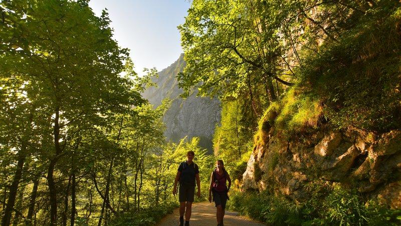 © Kraft | Wandern in Hallstatt: Welterbeblick auf dem Salzberg in der Ferienregion Dachstein Salzkammergut