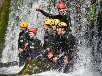 © Outdoor Leadership | Canyoning im Salzkammergut bei einem Urlaub in der UNESCO Welterberegion Hallstatt Dachstein Salzkammergut.
