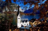 © Kraft   Evangelische Kirche Hallstatt in der UNESCO Welterberegion Hallstatt Dachstein salzkammergut