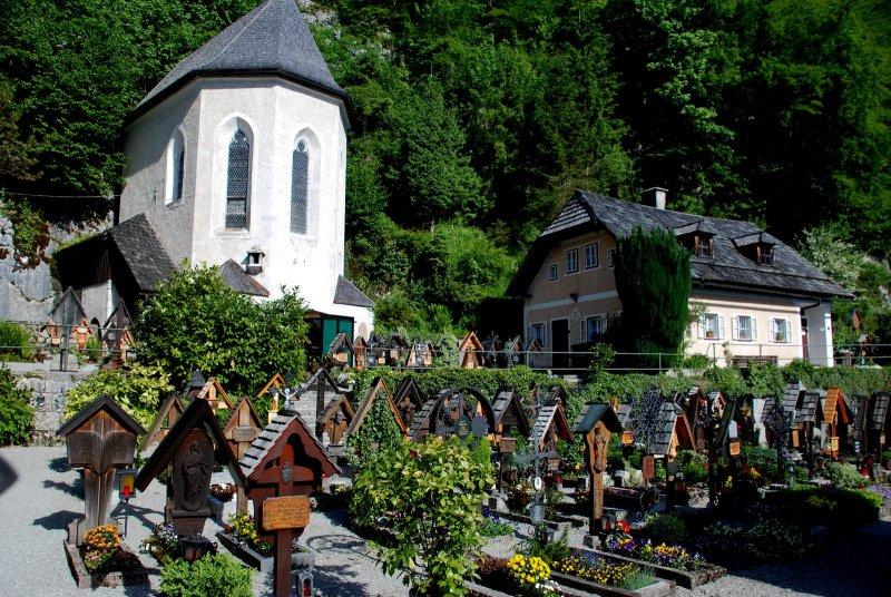 The Cemetery Of Hallstatt. PrevNext