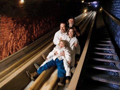 © Salzwelten / Salzwelten Hallstatt - Holiday in Austria: Salt Mine in Hallstatt