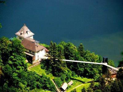 © Kraft | Der Rudolfsturm auf dem Salzberg bei einem Urlaub in Hallstatt.