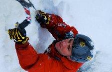© Outdoor Leadership | Eisklettern bei einem Winterim im Salzkammergut Winterurlaub aktiv in Bad Goisern am Hallstättersee