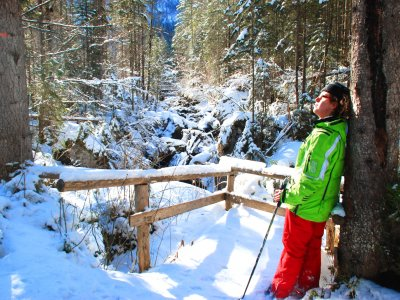 © Kraft | Schneeschuhwandern in Hallstatt