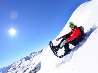 ©OÖ.Tourismus/Röbl |  Schneeschuhwandern auf dem Feuerkogel in Ebensee
