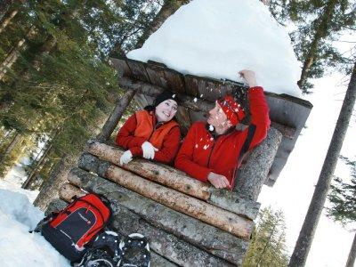 © OÖ.Tourismus/Röbl | Schneeschuhwandern in Bad Goisern am Hallstättersee – Winterurlaub im Salzkammergut