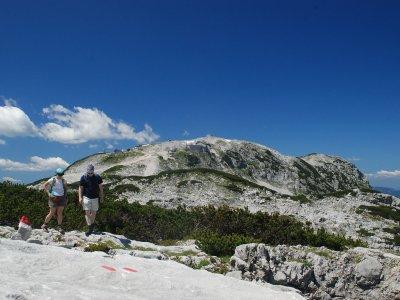 © Kraft |  Wandern im Salzkammergut in Österreich: Margschierf-Wanderung auf dem Dachsteinpleteau