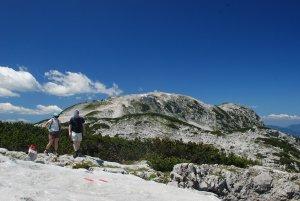 © Kraft    Wandern im Salzkammergut in Österreich: Margschierf-Wanderung auf dem Dachsteinpleteau