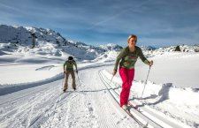 © Gjaidalm | Langlaufen im Salzkammergut: Langlaufloipe auf der Gjadalm