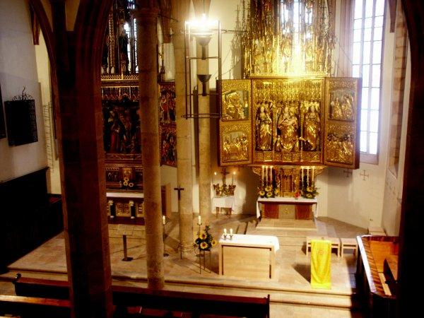 © Kraft | Gottesdienst in der Pfarrkirche Mariä Himmelfahrt in Hallstatt in der Ferienregion Dachstein Salzkammergut