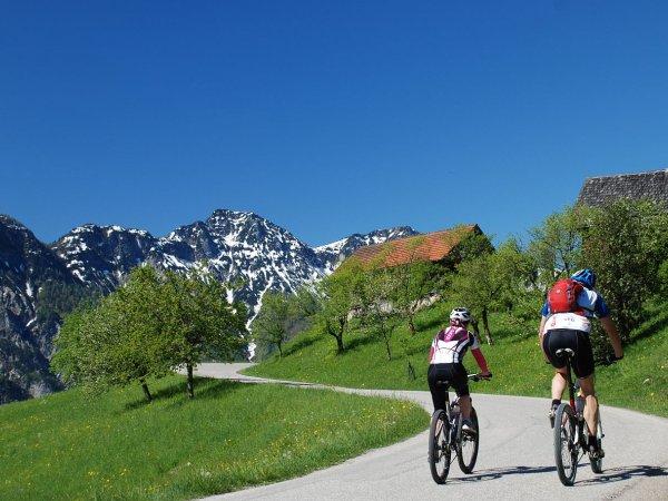 "© Kraft   Geführte Mountainbiketour ""Hoisnrad Tour"""