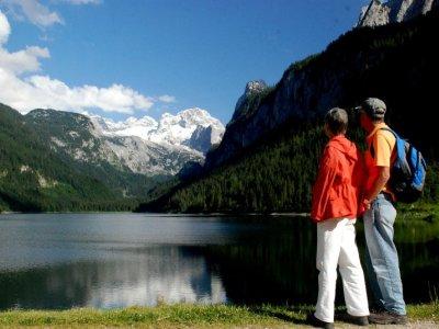 © Kraft | Wandern im Salzkammergut. Geführte Wanderungen mit Betty in Gosau: Gosausee – Gosauseelacke