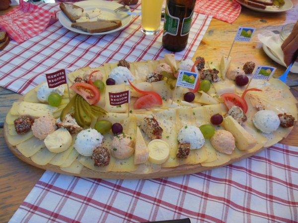 Käse auf der Rottenhoffhütte