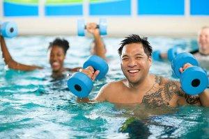 Wassergymnastik im Narzissen Vital Resort