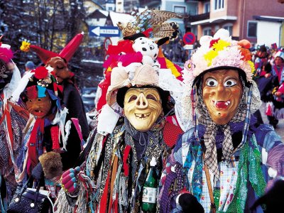 © OÖ.Tourismus/Heilinger | Fasching in Ebensee am Traunsee