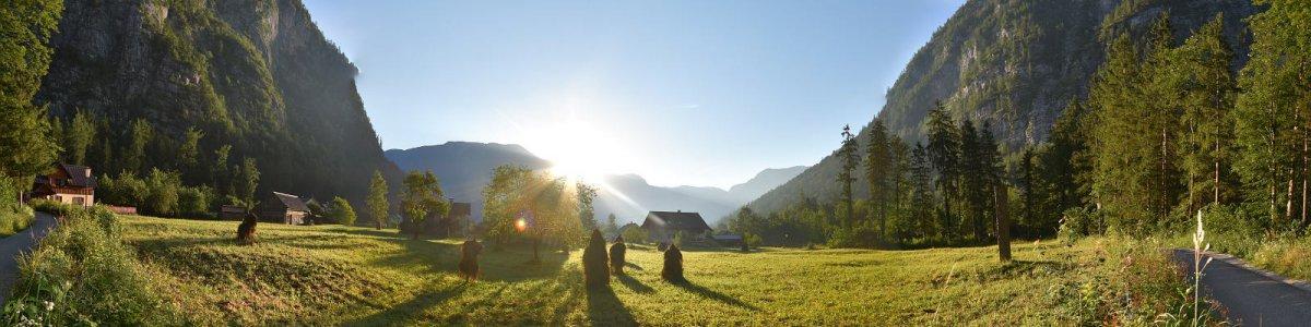 Sonnenaufgang im Echerntal - © Kraft