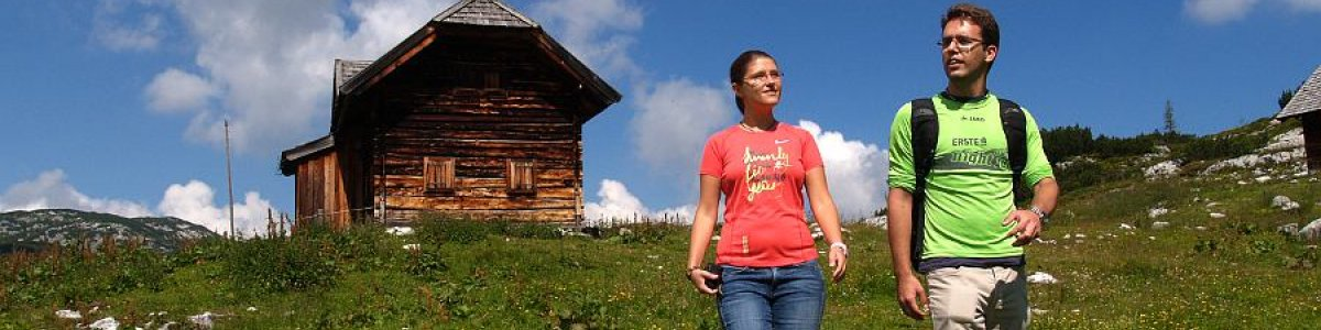 Wandern im Salzkammergut: Das Wiesberghaus -