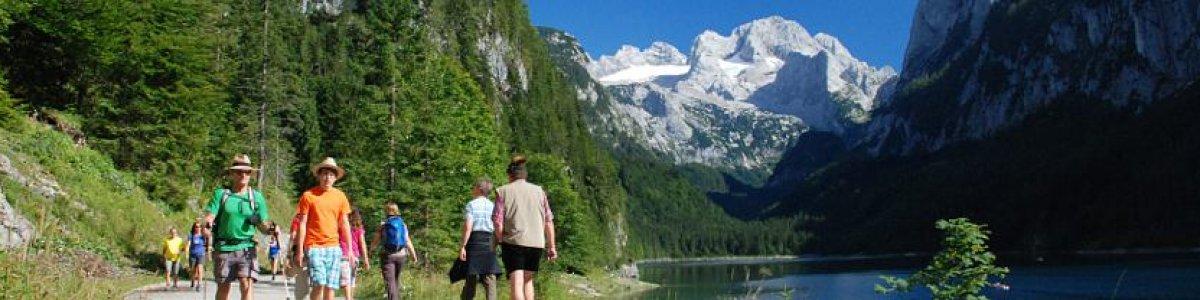 """Wandern mit Betty """"Gosausee"""" -  © Kraft"""