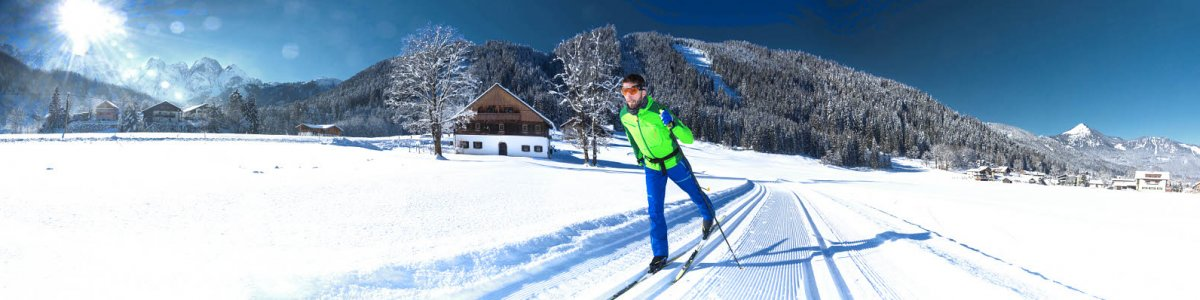 Cross-country skiing in Austria - © Kraft