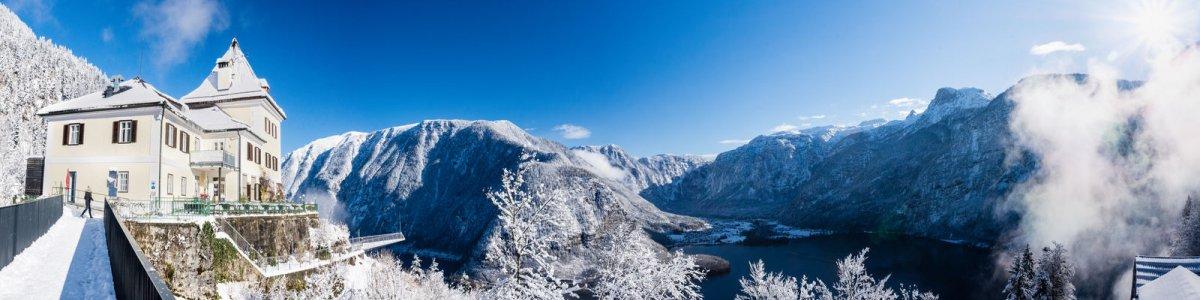 Winterspaziergang auf dem Salzberg in Hallstatt  - © Kraft