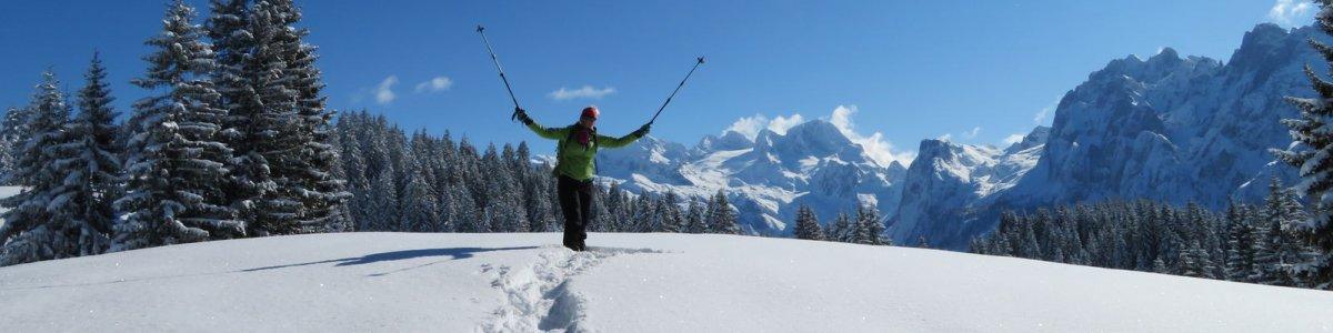"""Schneeschuhwanderung """"Dachstein West"""" - ©Jehle"""