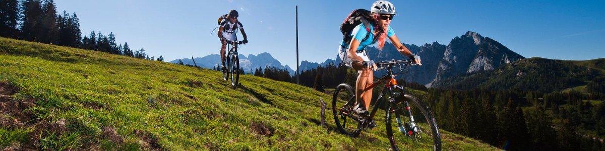 'Geführte Mountainbike-Touren' im Salzkammergut - © OÖ Tourismus/Erber
