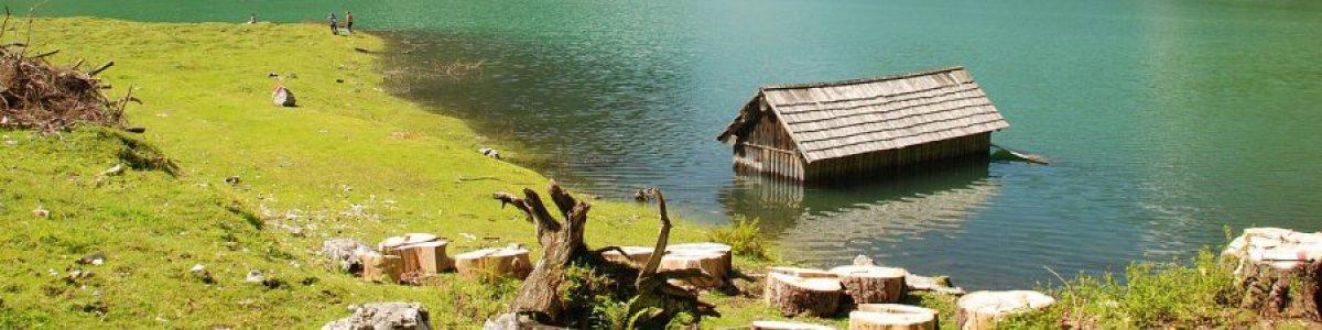 Der Hintere Gosausee in der UNESCO Welterberegion Hallstatt Dachstein Salzkammergut - © Kraft