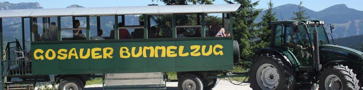 Bummelzug Gosau -