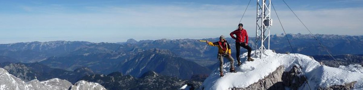 On the top: Mount Dachstein - © Gerhard Pilz