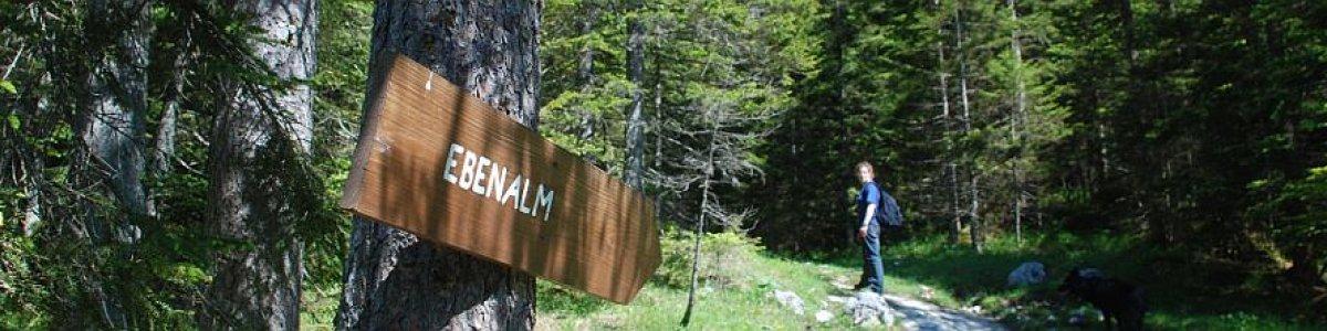Wanderung zur Ebenalm in Gosau - © Kraft