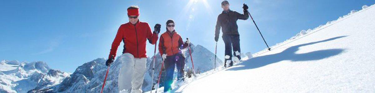 Geführte Schneeschuhwanderung in Gosau - © OÖ.Werbung Himsl