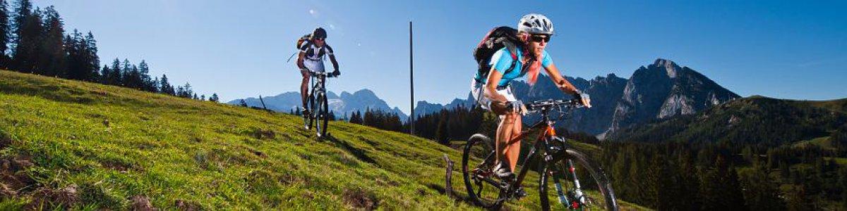 Service & Information around Biking: MTB Competence Centre in Bad Goisern at Lake Hallstatt - © OÖ.Tourismus/Erber
